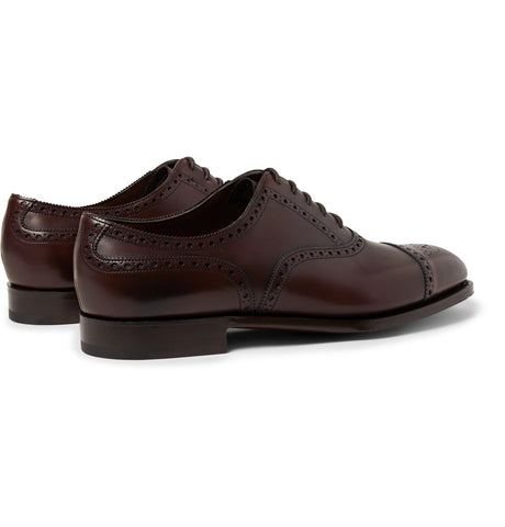 Cadogan Burnished-Leather Brogues