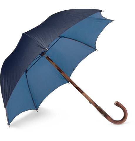 Lord Chestnut Wood-Handle Two-Tone Umbrella