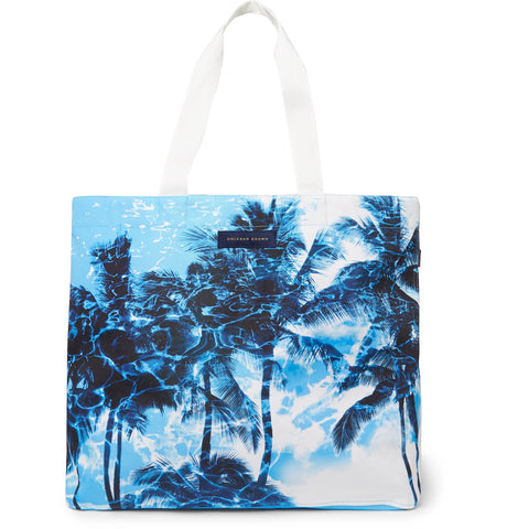 Clyde Printed Canvas Tote Bag