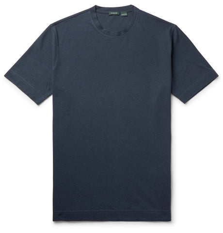Slim-Fit Ice Cotton-Jersey T-Shirt