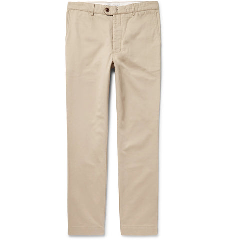 New Fisherman Cotton-Twill Chinos