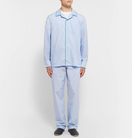 Marcel End-On-End Cotton Pyjama Trousers