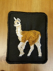Llama Patch - This one is brown