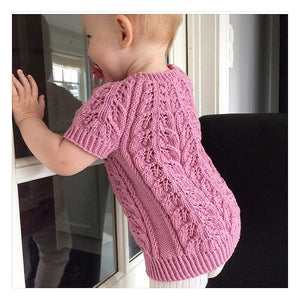 Ellem sweater for kids, english pattern