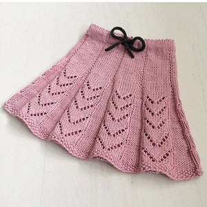 Hearts on line skirt, english pattern