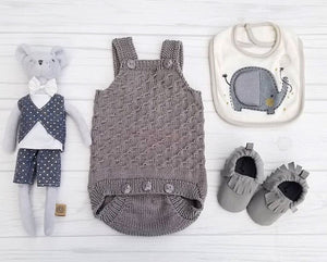 urban romper,english pattern