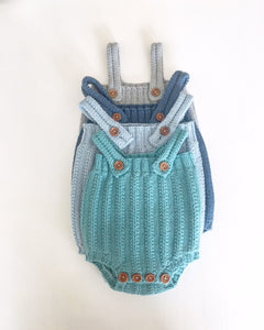 enkel basis romper, spanish pattern