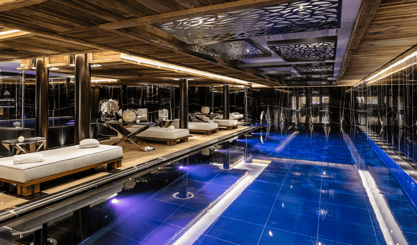 Our favorite: The Ultima Gstaad SPA