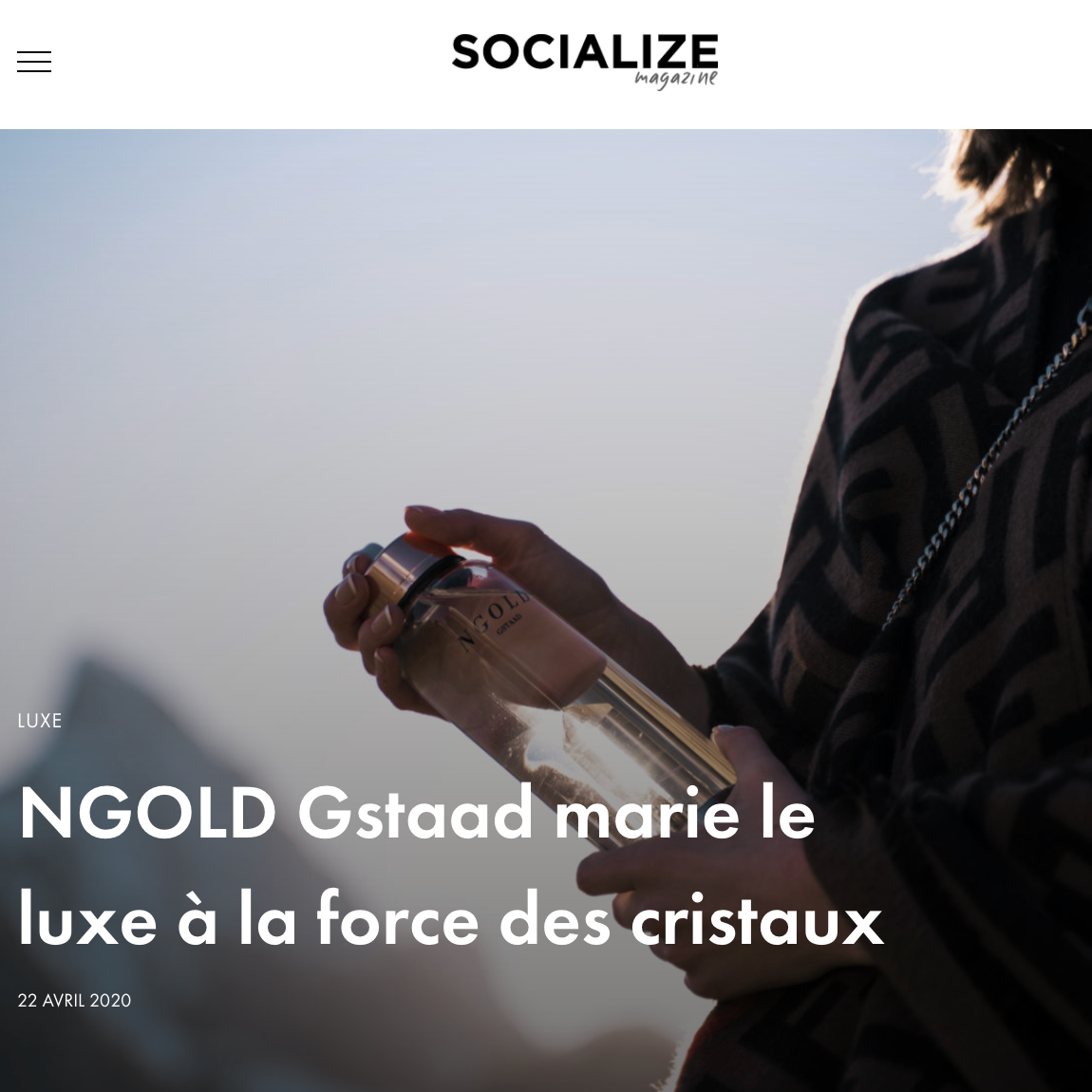 04-2020 - SOCIALIZE Magazine x NGOLD Gstaad