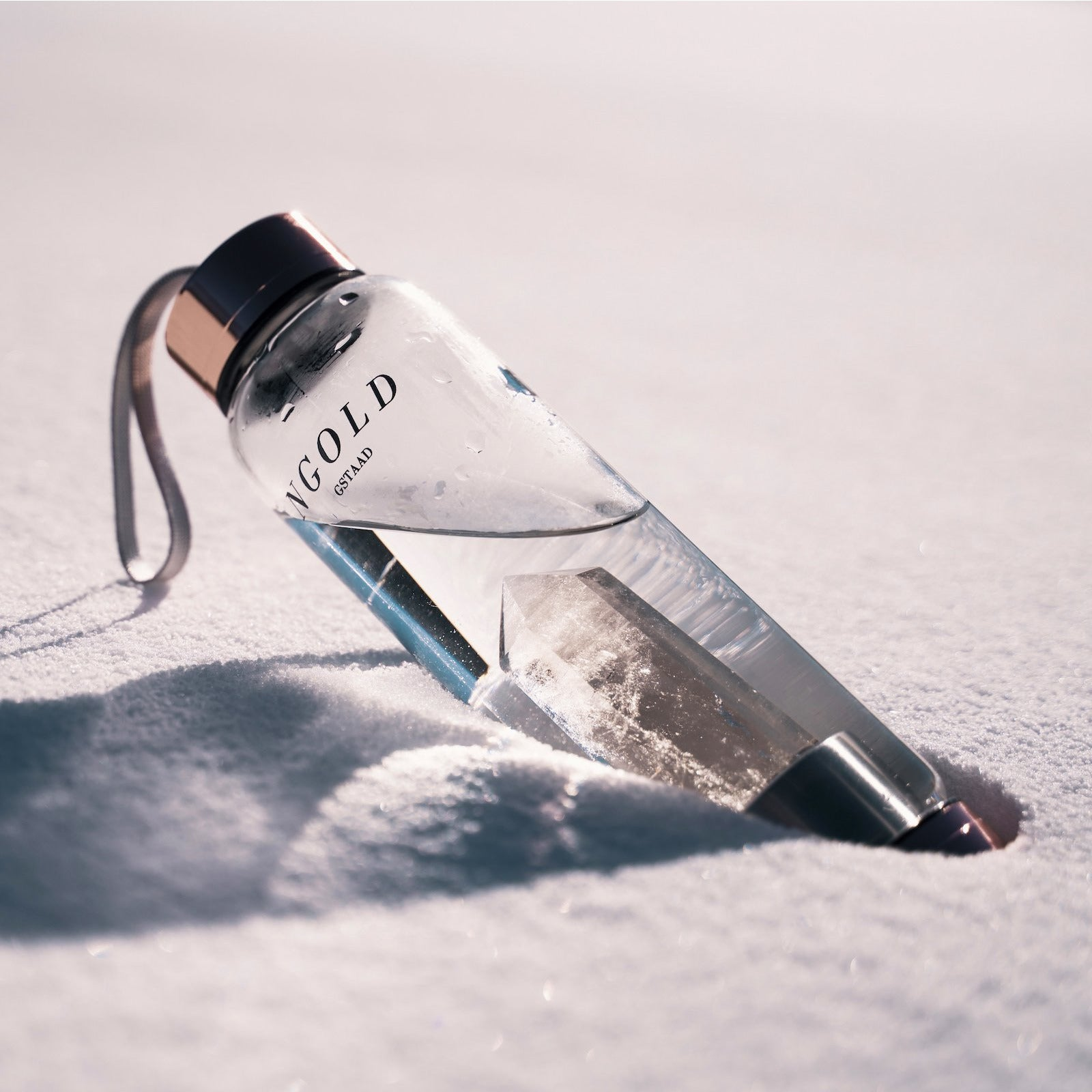 NGOLD Gstaad - ABOUT - Crystal Water Bottle image