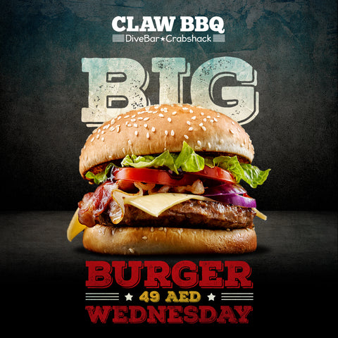 Burger 49 AED Wednesday Promotion