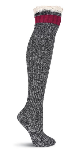 Women's Pretty Tomboy Over the Knee Socks - Socksplus1