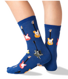 Kid's Guitars Crew Socks - Socksplus1
