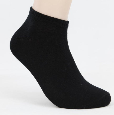 6 pairs Men's Cotton Ankle Socks - Socksplus1