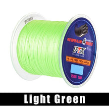 Load image into Gallery viewer, FTK 114M 125Yards PE Braided Wire Fishing Line 4 Strands 0.10mm-0.40mm 8LB-60LB Japan Strong Multifilament Fiber Fishing Line