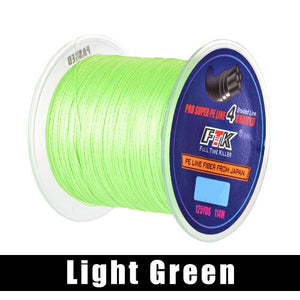 FTK 114M 125Yards PE Braided Wire Fishing Line 4 Strands 0.10mm-0.40mm 8LB-60LB Japan Strong Multifilament Fiber Fishing Line