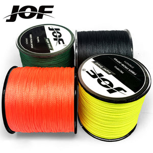 JOF 300M Multicolour PE Braided Wire 4 Strands Multifilament Japanese Fishing Line - ShopRandy