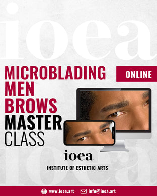 MEN BROWS MICROBLADING | ONLINE CLASS