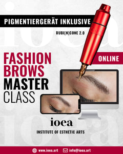 FASHION BROWS | ONLINE CLASS INKL. IOEA PIGMENTIERGERÄT