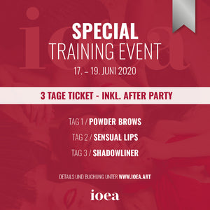 Special Training Event - 3 DAYS SILVER - After Party inkl.