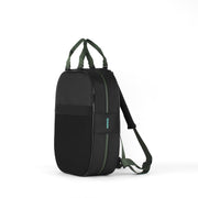 Backpack, Black + Green Straps