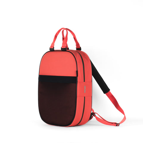 Backpack, Coral + Coral Straps