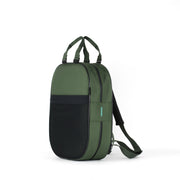 Backpack, Green + Green Straps