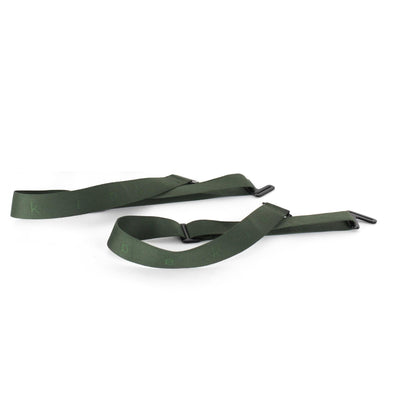 Backpack straps, Green