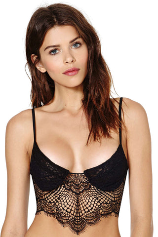 Bat Your Lashes Under Wire Bra (More Colors)