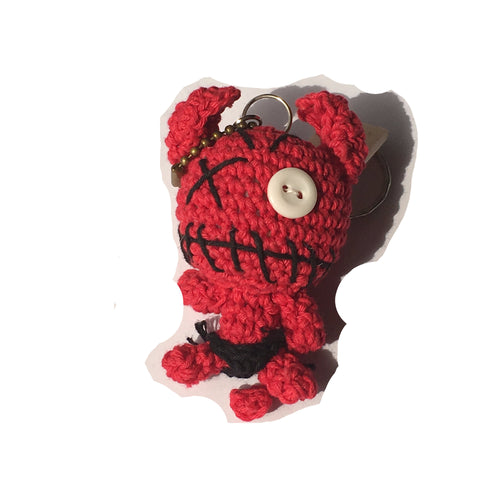 Red Devil Keychain