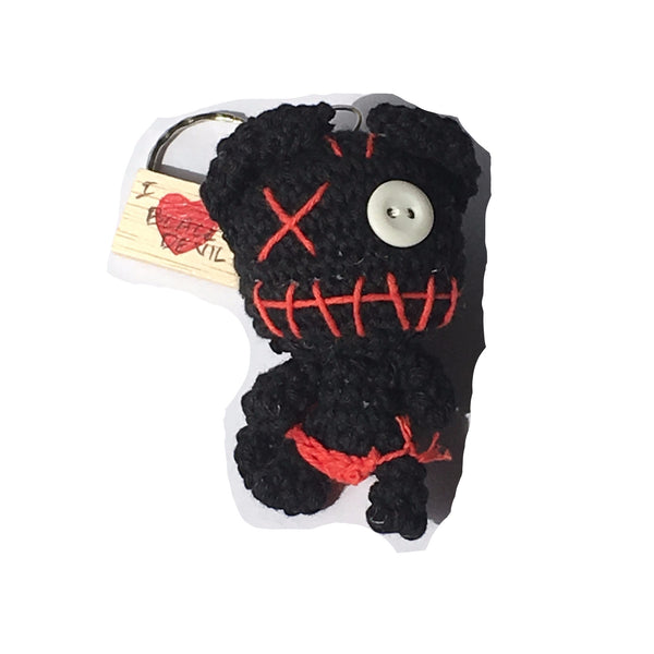 Black Monster Keychain