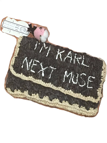 I'm Karl's Next Muse - Large Pouch