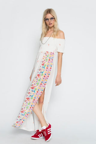 Huichol Cult Maxi Dress