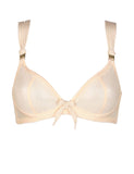 Smooth Shoelace Plunge Bra (More Colors)