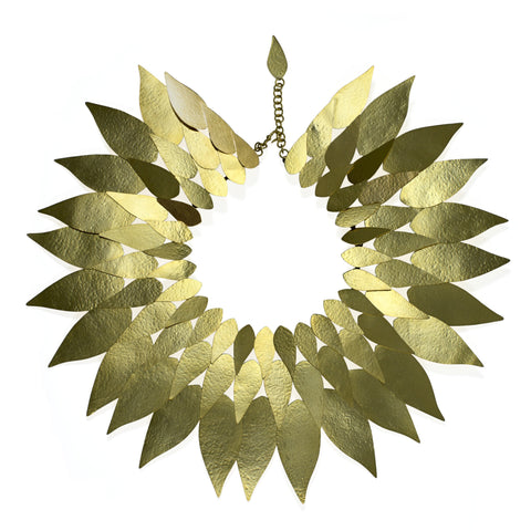 Leaf Layered Necklace