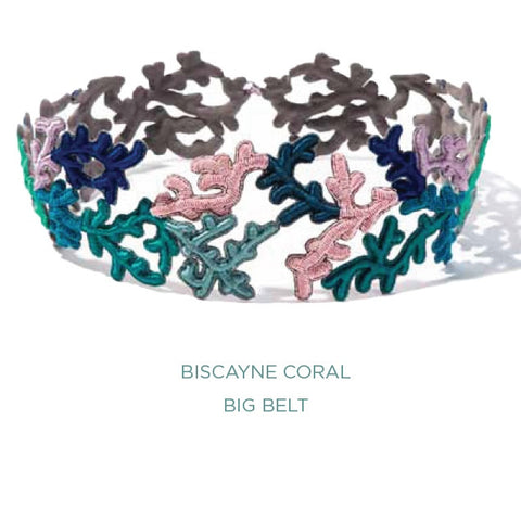 Biscayne Coral Big Belt (More Colors)