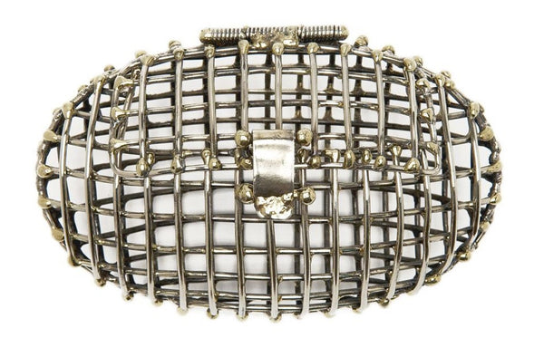 Oval Open Cage Clutch
