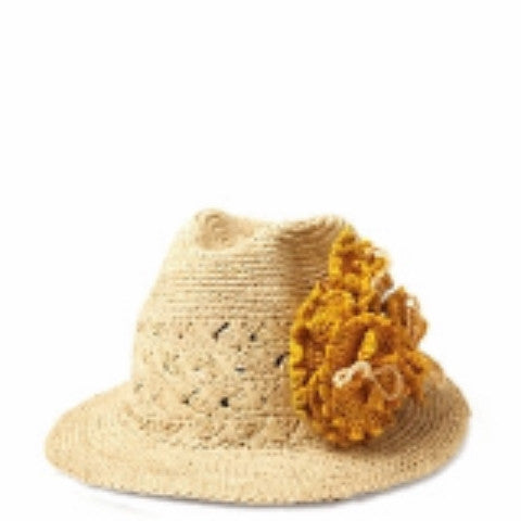 Julia Flower Hat (More Colors)