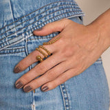 Triple Adriane Ring (More Colors)