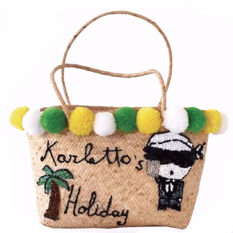 Karletto's Holiday Beach Tote