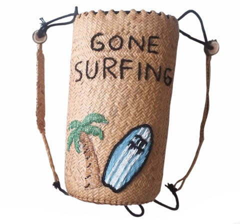 Gone Surfing Back Pack