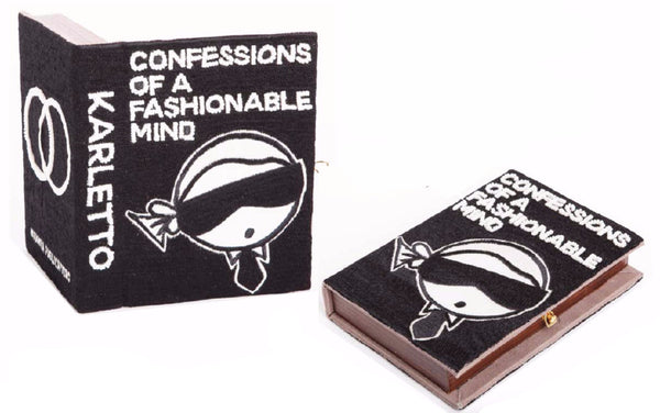 Confessions of a Fashionable Mind Book Pouchette