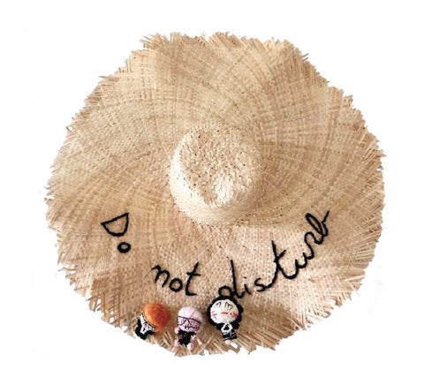Do Not Disturb Palm Hat