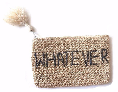 Whatever Mini Zip Pouchette
