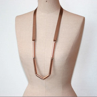 Thin Ribbon Necklace (More Colors)