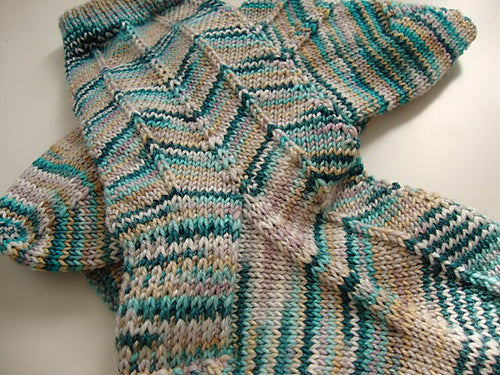 Variegated Yarn Patterns Knitting : Variegated Yarns the Jewels in Your Stash - Tangled Yarn UK