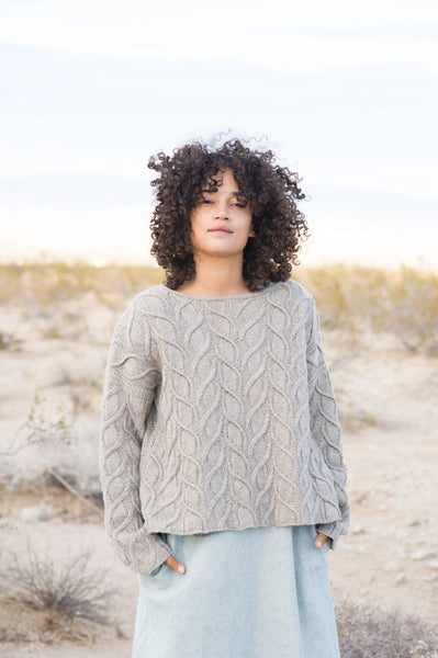 Shifting Sands Pullover by Norah Gaughan from Making Magazine No7. Desert