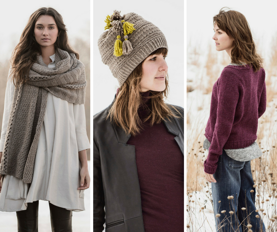 Woolstok Knitting Patterns from Blue Sky Fibers