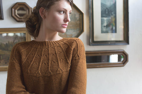Agrotera Pullover by Amanda Bell