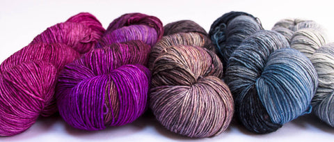 Malabrigo Mechita, new colours
